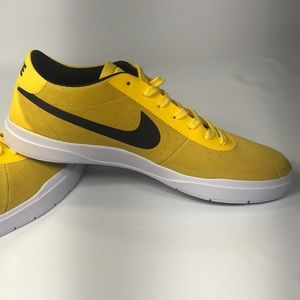 Nike Shoes - Nike SB Bruin Hyperfeel Yellow Suede Sneaker